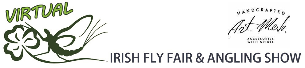 The Virtual Irish Fly Fair 2020 - page header Art Merk - Fly fishing leather accessories