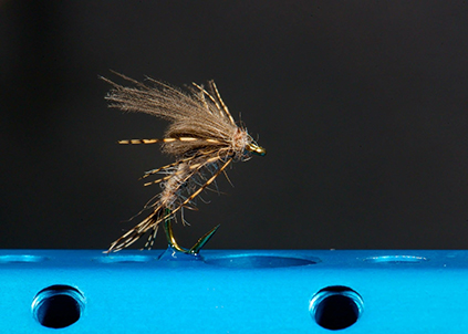 Fly Dressed by Paul Slaney Virtual fly Dresser at The Virtual Irish Fly Fair 2020 - March Brown Emerger Fly