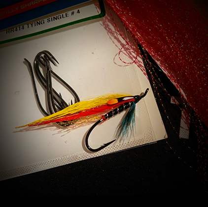 Salmon Fly Gray Dog by Peter Scheffler at the Virtual Irish Fly Fair 2020