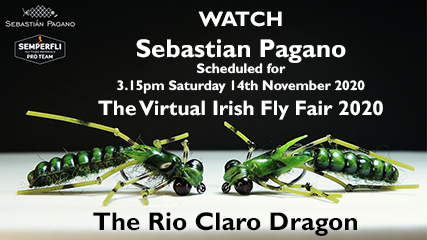 Check out The Scheduled Video by Sebastian Pagano - Realistic Flies The Rio Claro Dragon